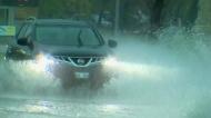 Winnipeg storm causes transit bus to flood