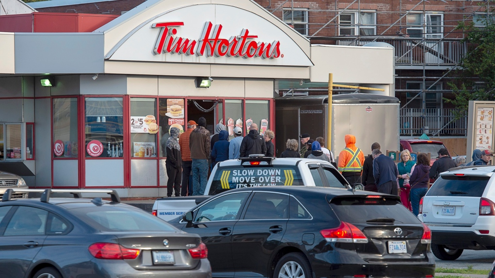 Fredericton latest Canadian city to grapple with Tim Hortons drive-thru woes