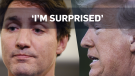 Trump 'surprised' by Trudeau's black face images