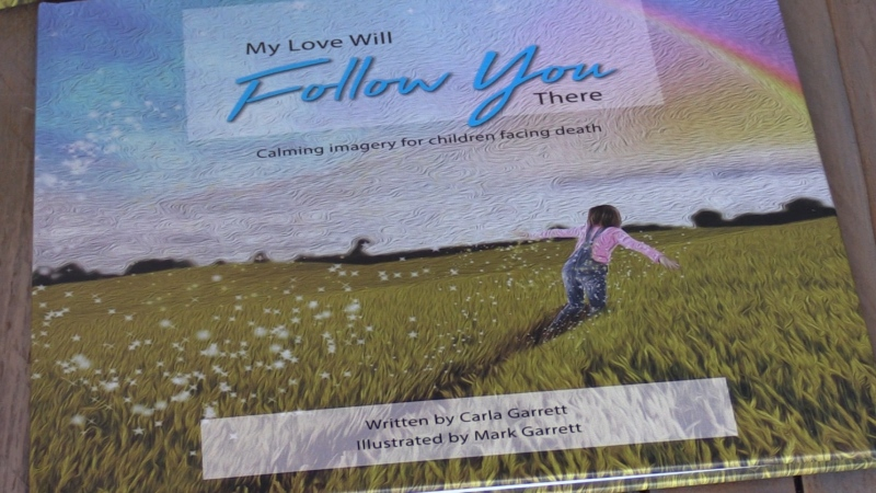 'My Love Will Follow You There' by Mark and Carla Garrett was inspired by the loss of their son to cancer at the age of seven.