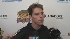 WATCH ONLINE EXCLUSIVE: North Bay Battalion Centre Matthew Struthers speaks to members of the media ahead of the 2019-2020 OHL season.
