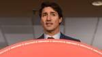 Liberal Leader Justin Trudeau makes a policy announcement promising to ban all military-style assault rifles as part of a broader gun-control plan that will also take steps towards restricting and banning handguns in Toronto on Friday, Sept. 20, 2019. THE CANADIAN PRESS/Sean Kilpatrick