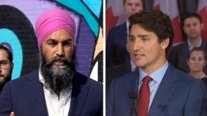 Singh on possible Trudeau talk