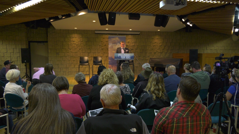 'It's very concerning': Red Deerians express worries at budget townhall