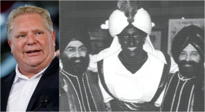 Doug Ford has broken his silence on Justin Trudeau's brownface and blackface scandal.