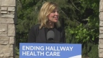 Elliott announces funding for palliative care