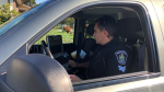 Abbotsford police are now using e-ticketing for driving offences. (Twitter/AbbyPoliceDept)