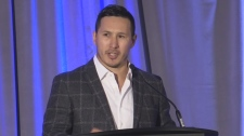 Former NHL star talks addiction recovery