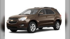 Police supplied photo of a Chevrolet Equinox.