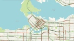 Downtown Vancouver is expected to be congested this weekend. (CTV live-updating traffic map)