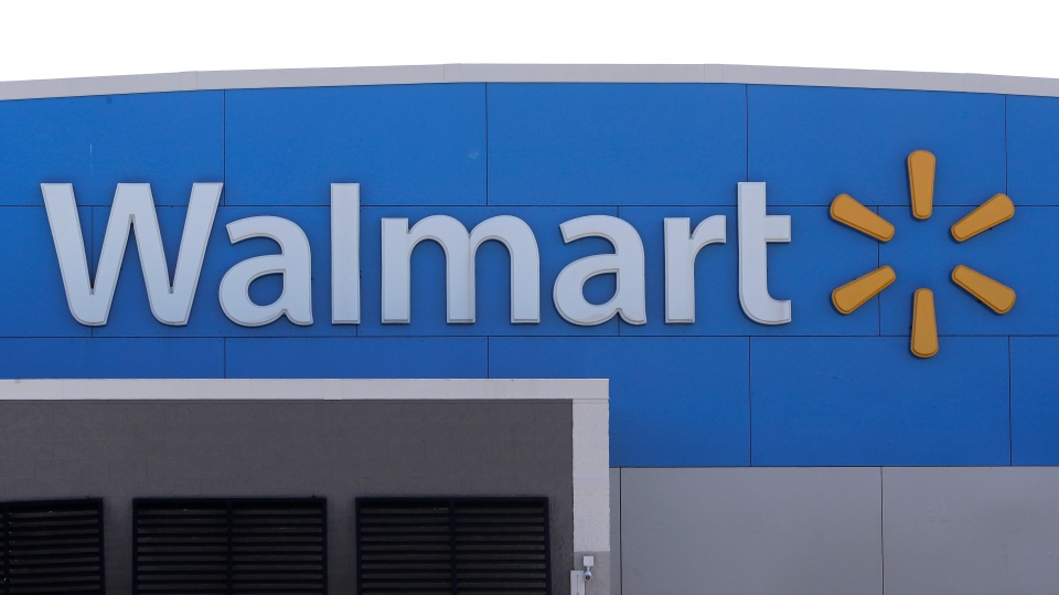 A Walmart location is seen in this file photo.