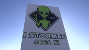 'Storm Area 51' attendees arrive in Nevada desert