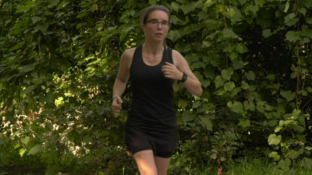 Runner with cerebral palsy doing half-marathon for love and research
