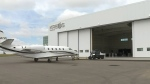 New hangar at YQR