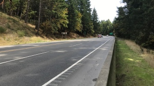 A stretch of Highway 1 in the West Shore slated for safety upgrades (BC Gov)