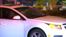 Peel police are investigating after a vehicle struck two pedestrians in Brampton. (CP24)