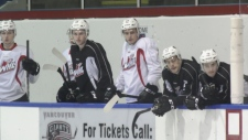 The Vancouver Giants have a new crop of young talent trying to make the team.