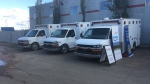 AHS donated five ambulances to emergency responders in Corozal, Belize.