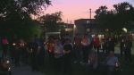 candlelight vigil Kitchener