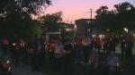 candlelight vigil Kitchener