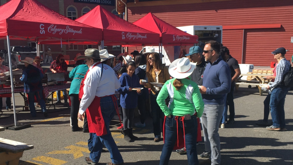 Calgary Stampede officials hold annual fall festival