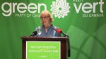 Elizabeth May makes drug policy announcement
