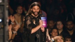 Jonathan Van Ness introduces the song of the year award at the MTV Video Music Awards at the Prudential Center on Monday, Aug. 26, 2019, in Newark, N.J. (Photo by Matt Sayles/Invision/AP)