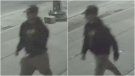 Police are searching for the man pictured here in relation to an alleged assault on Sept. 12. (Toronto Police)