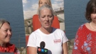 Catherine McKenna speaks to media on single-use plastic reduction September 21, 2019.