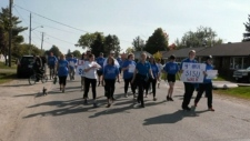 Students gather for SISU Family Walk