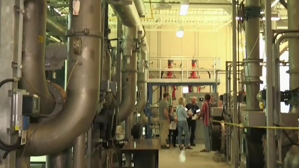 Water treatment plant rocked by explosion opens its doors five years later