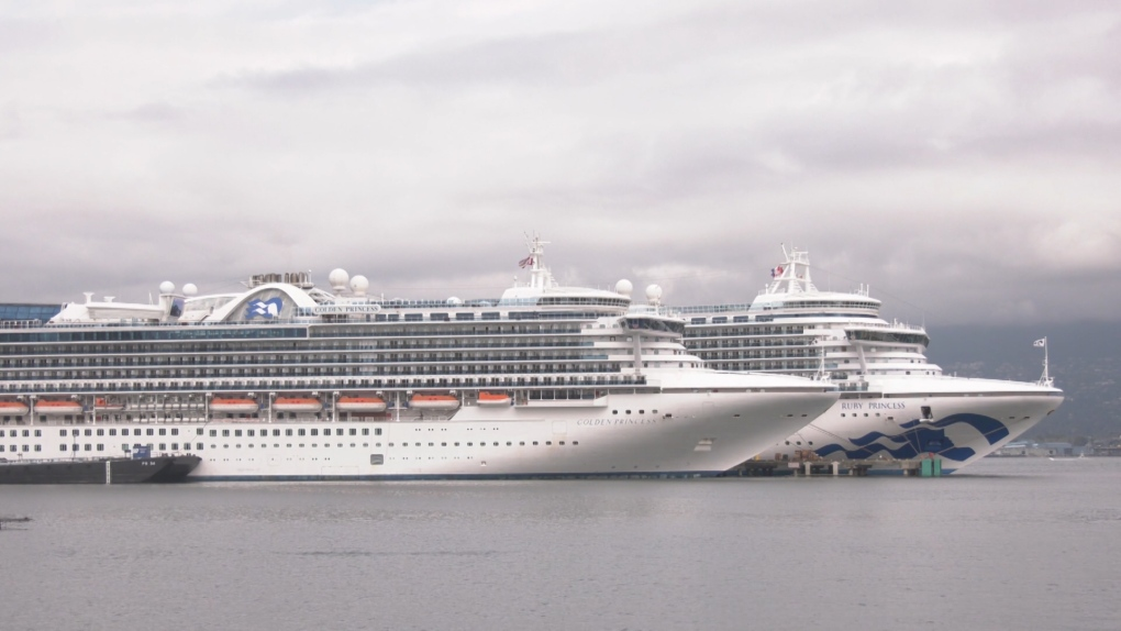 September is the height of cruise ship season in Vancouver