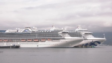 Cruise ships Vancouver