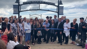 White Rock Pier reopening ceremony
