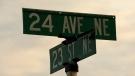 24 Ave, 23 Street crash