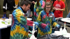 """Calgary Public Library hosted Beakerhead's """"science takeover"""" event on Sept. 21."""