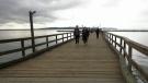 Work still needed on White Rock pier