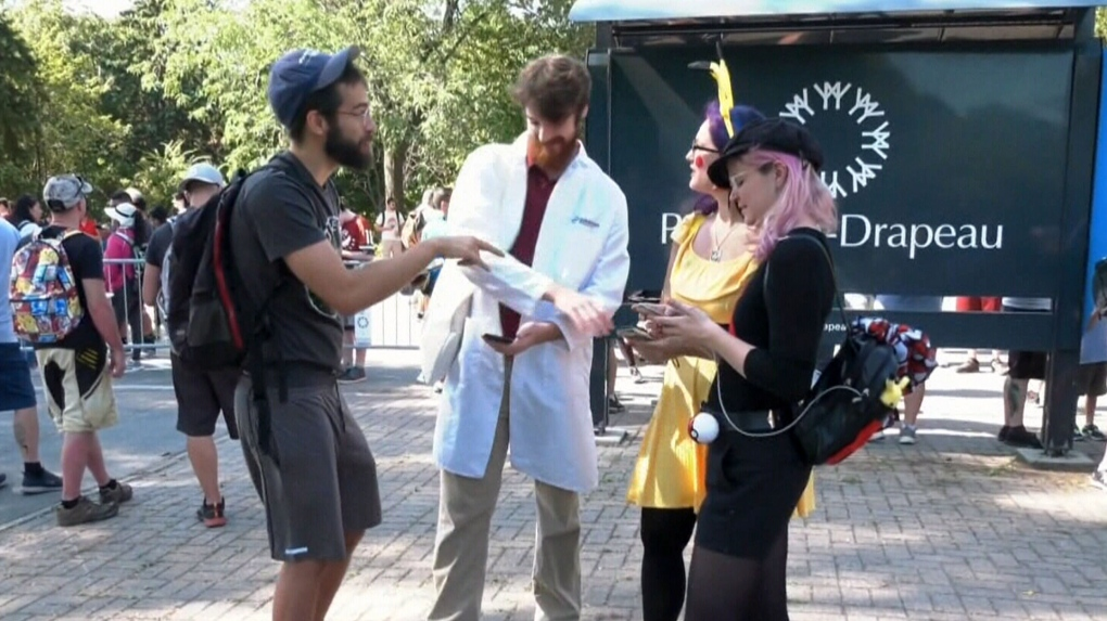 Thousands of Pokemon GO fans descend on Montreal park for Canada's first 'Safari Zone' event