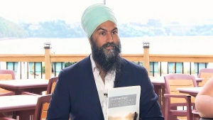 Singh makes announcement on climate change