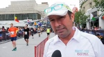 Montreal Marathon director Dominque Piche took full responsibility for the delay in starting today's full and half-marathons this morning.