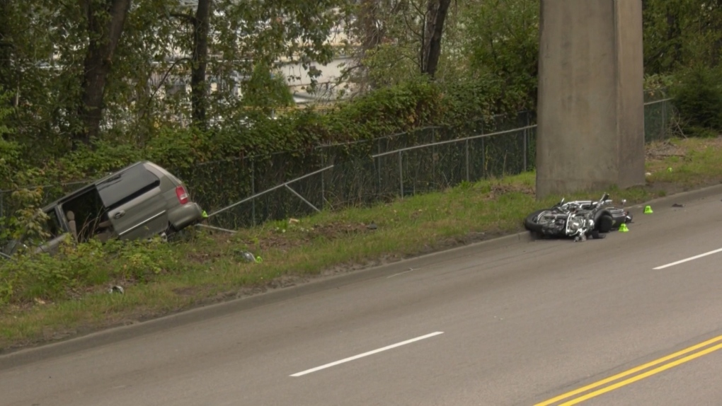 New Westminster crash