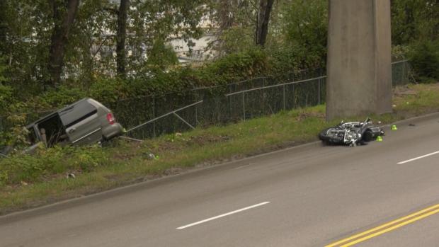 The incident occurred around 4 p.m. Saturday on Stewardson Way. (CTV)