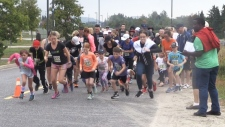 Hundreds attend 'Our Walk and Run'