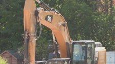 Human remains found in housing project