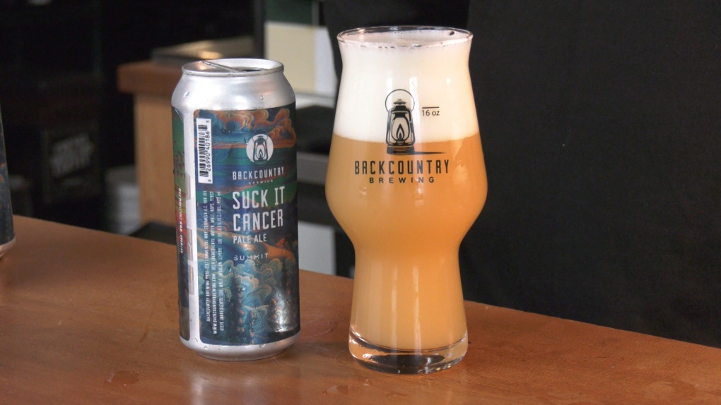 'Suck it Cancer': brewery launches fundraiser with new beer can label and name