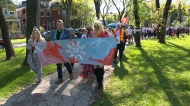 Walk to support people living with HIV