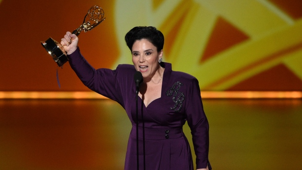 Emmys open with Homer Simpson, early 'Maisel' wins
