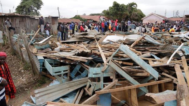kenya school collapse
