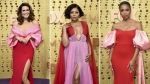 Actress Mandy Moore, Taraji P. Henson and Susan Kelechi Watson are seen in this combo picture.