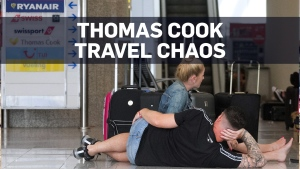 Collapse of Thomas Cook strands hundreds of thousa
